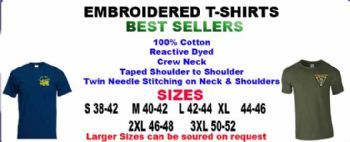 T-SHIRTS EMB BEST SELLERS